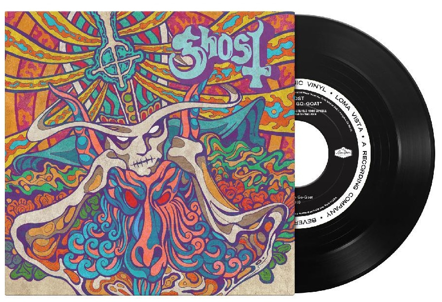 "GHOST lanza por sorpresa ""Seven Inches Of Satanic Panic"", un nuevo EP + video"