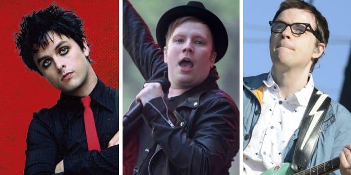 GREEN DAY, FALL OUT BOY y WEEZER estrenan nueva canción y anuncian gira Europea