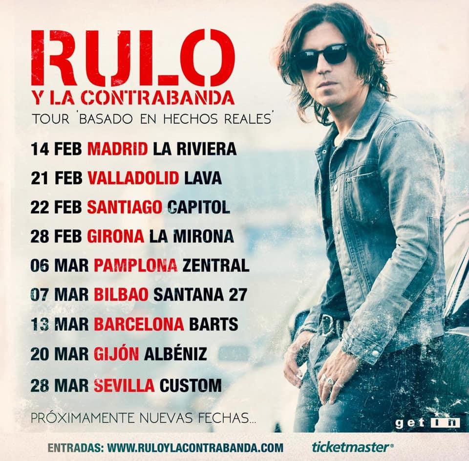 RULO Y LA CONTRABANDA: Nuevo single y primeras fechas de gira