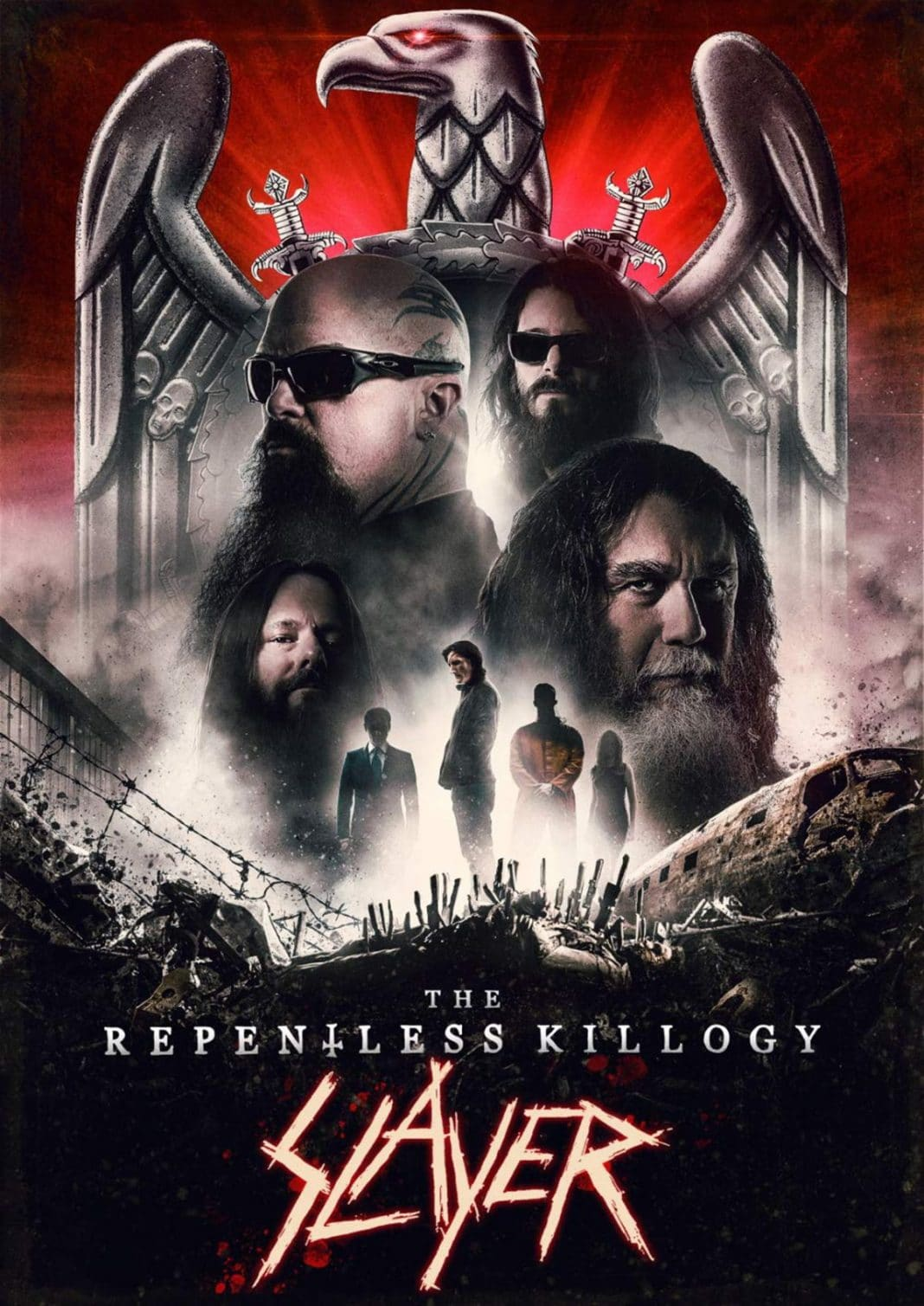 """SLAYER estrenará """"The Repentless Killogy"""" en cines de todo el mundo el 6 de noviembre"""