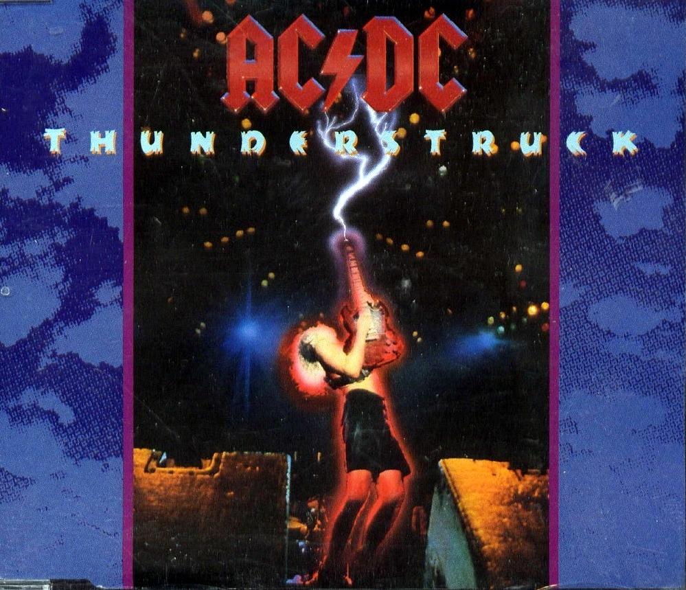"""AC/DC: La historia detrás de la canción """"Thunderstruck"""" de 1990"""