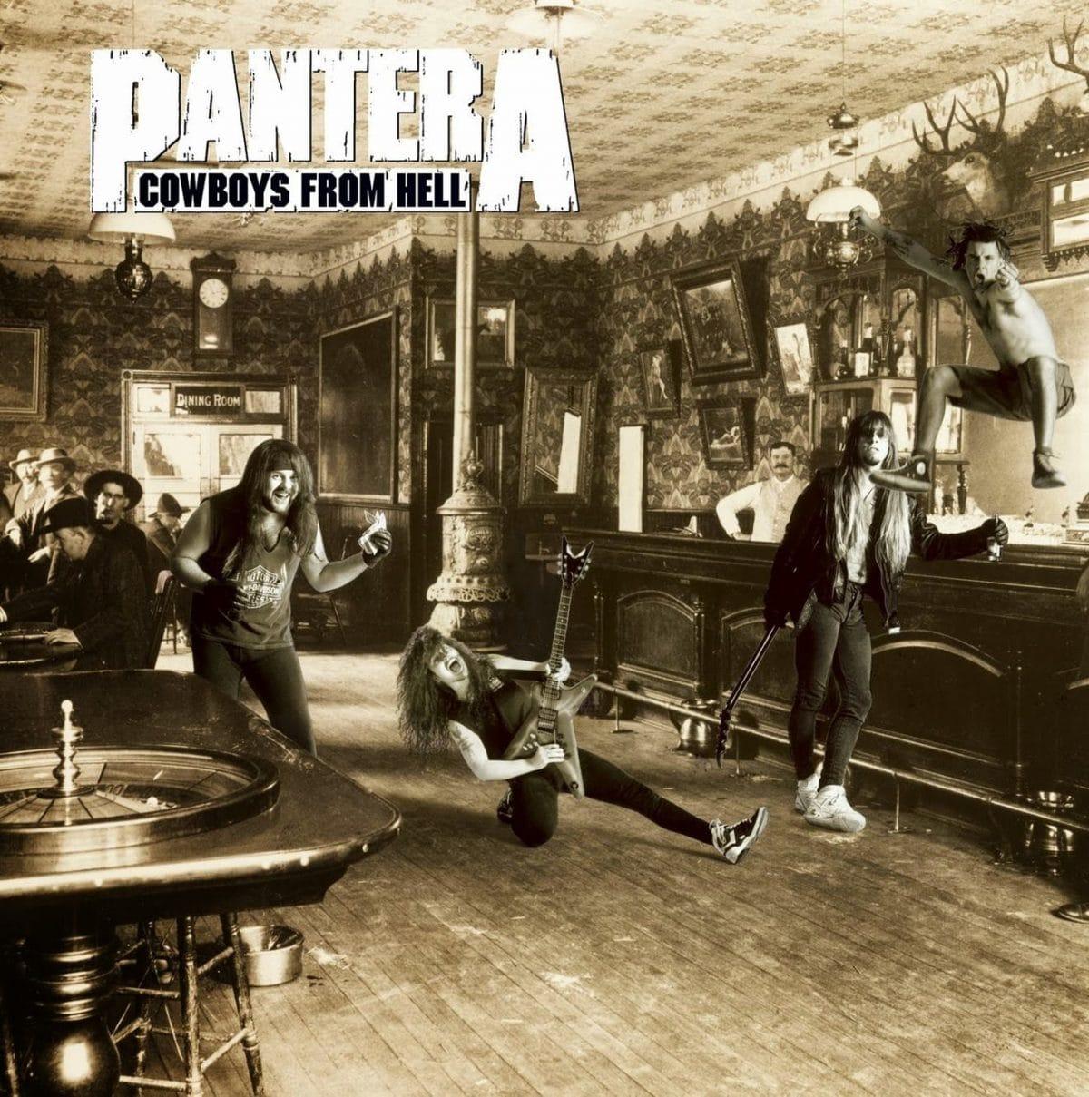 PANTERA: Todos sus discos ordenados de peor a mejor