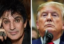 TOMMY LEE de MÖTLEY CRÜE dice que DONALD TRUMP es