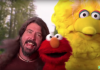 DAVE GROHL de FOO FIGHTERS fue el invitado especial en BARRIO SÉSAMO (VIDEO)