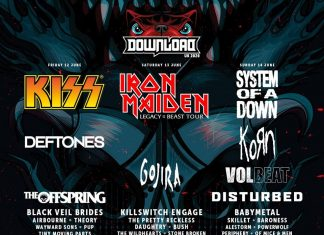 VOLBEAT, KILLSWITCH ENGAGE, BABYMETAL y 34 grupos más se suman al DOWNLOAD FESTIVAL 2020