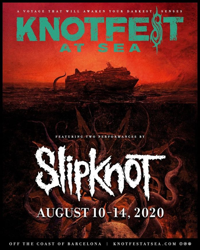 Slipknot tocará en Knotfest At Sea, un crucero que partirá de Barcelona