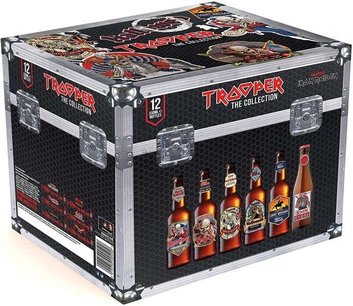 IRON MAIDEN lanza una caja edición limitada de cervezas
