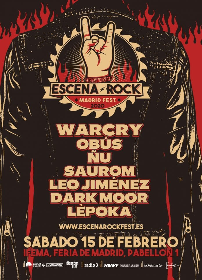 Festival ESCENA ROCK 2020: Cartel, horarios, entradas y más información