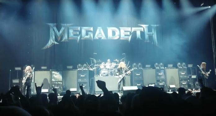 MEGADETH toca por primera vez en directo después de 15 meses (VIDEO)