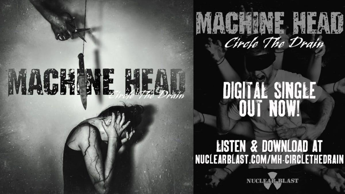 """MACHINE HEAD estrena nueva canción: """"Circle The Drain"""" (VIDEO)"""