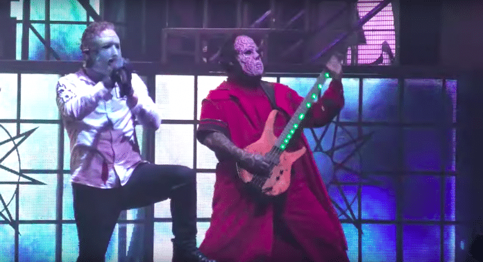 Mira a SLIPKNOT actuar en Budapest (VIDEO)