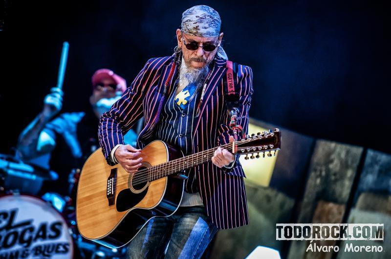 Crónica del concierto de El Drogas y la Rhythm & Blues Band en Madrid (12 de marzo de 2018)