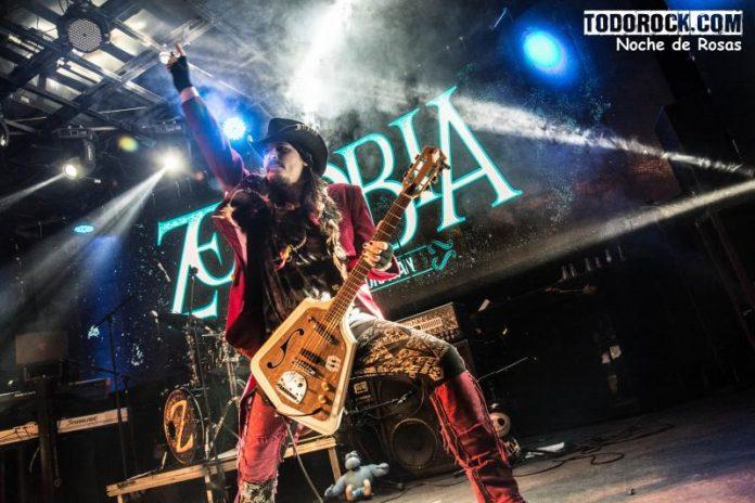 Crónica del concierto de Zenobia en la sala Cool Stage de Madrid | 14 de abril de 2018